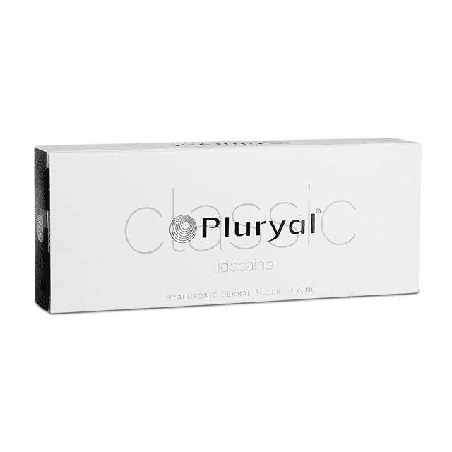 Pluryal Classic Lidocaine jest sterylnym, biodegradowalnym, lepkosprężystym, przezroczystym, przezroczystym, izotonicznym i homogenizowanym implantem żelowym do wstrzykiwań.